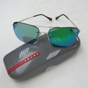 ae771d3a2b6 Prada Linea Rossa Accessories - PRADA SPS52R 1BC-1M0 Men s Sunglasses  Italy OLL736
